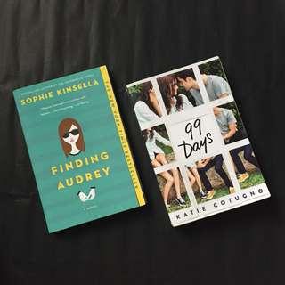 Book Bundle (Finding Audrey +99 Days)