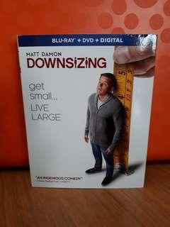 USA Blu Ray Slipcase - Downsizing (Down Sizing)