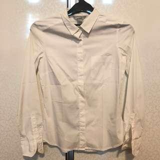 Kemeja / Shirt Putih H&M