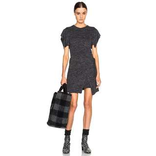 Isabel Marant Asymmetric tie front dress 不規則連身裙