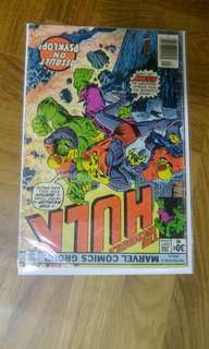 Incredible Hulk bronze age marvel comics