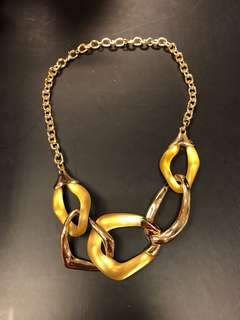 Alexis Bittar gold necklace