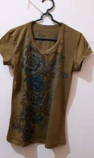 Roses Brown Super T Shirt