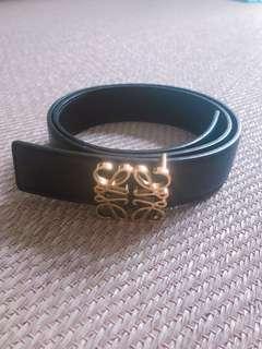 Loewe belt (navy&black)