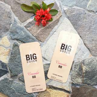 Jual Sample Big Cover Concealer BB varian Beige SPF 50+ / PA +++ Original Etude House