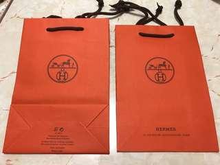 Hermes 紙袋 (法國巴黎 Paris)