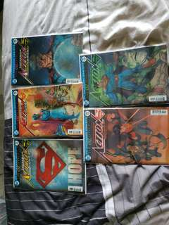 Dc comics superman action comics 987-991 3d lenticular covers