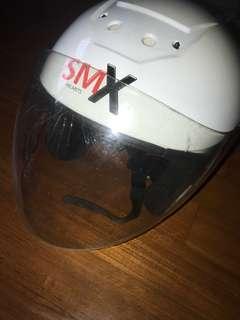 SMX Helmet White