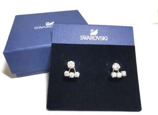 Swarovski Attract Light Round 耳環