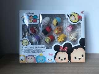 Tsum Tsum 3D Puzzle Erasers