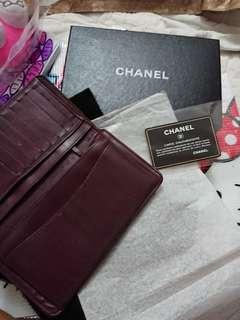 正版Chanel銀包