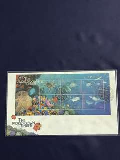 Australia Miniature Sheet FDC as in Pictures