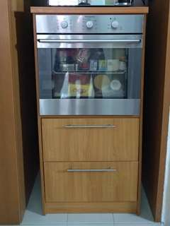 Oven with maching cabinet (full set)
