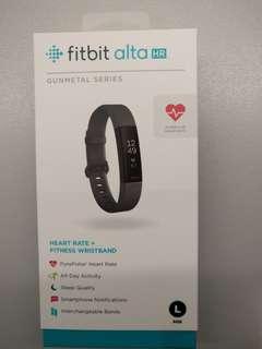 Fitbit Alta HR Gunmetal Special Edition - New