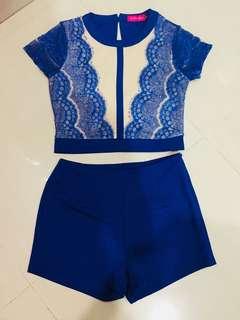 Lace Set Wear - top+bottom