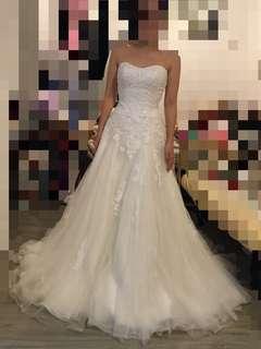 Ivoire 牌子 wedding dress gown 拖尾 婚紗