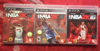 PS3 Games (Php200 each)