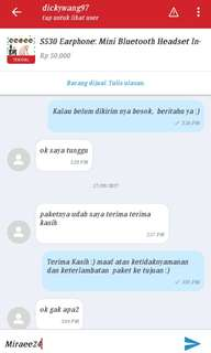 Testimoni Earphone Bluetooth