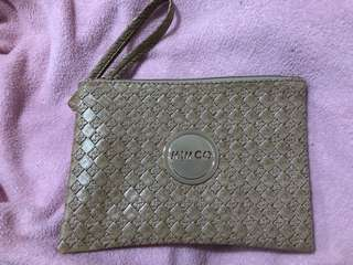 Mimco beige medium pouch replica *NOT GENUINE*