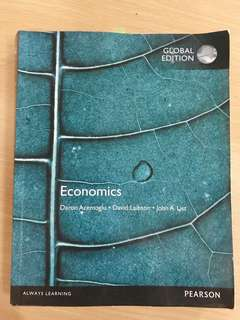 🚚 750 Pearson global edition Economics 經濟學 大學用書 原文書
