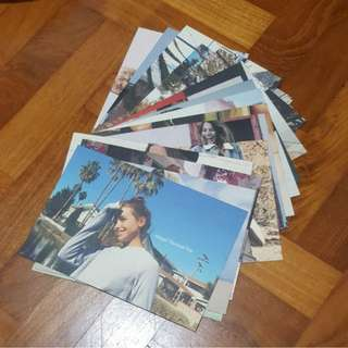 🚚 BNIP BRANDY MELVILLE tumblr authentic pack of 17 postcards (no repeats)