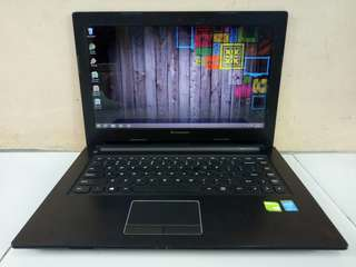 Laptop Gaming Lenovo Core i5 Gen 4th Haswell Dual VGA Intel HD + Nvidia 720M 2GB