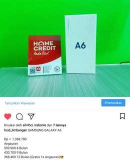 Kredit handphone Samsung A6
