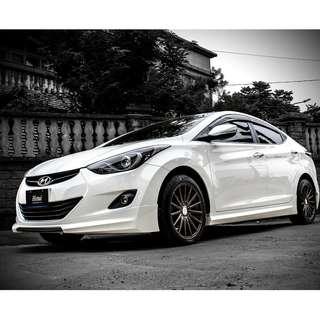2013 Hyundai Elantra 1.8 白