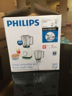 Philips blender 400w with dual container