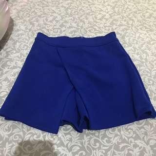 Blue skort