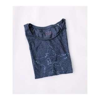 🦉 Esprit Choose To Shine Blue Shirt