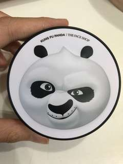 The Face Shop Oil Control Water Cushion - V201 Apricot Beige [Kung Fu Panda]
