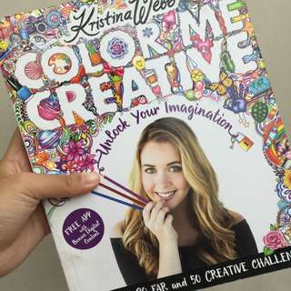 Color Me Creative Book