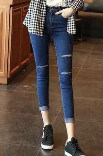 Denim Jeans Long Pants