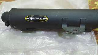 Y15 Cardinals Racing Open Exhaust (Cutting Standard)