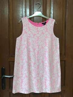 H&M Brocade Pink-White Dress