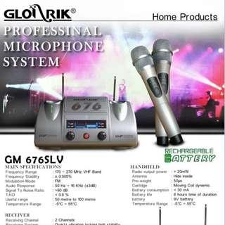 Glorrik Wireless Mic GM 676SLV