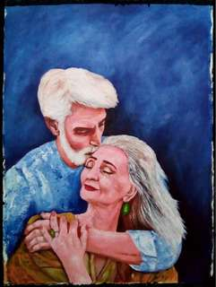 #23 Couple Painting