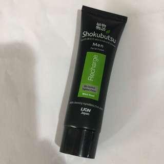 Shokubutsu Men Facial Foam