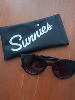 Sunnies Black Shaded