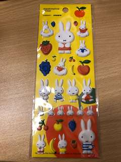 Miffy stickers