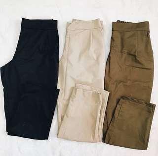 PLAIN TROUSERS