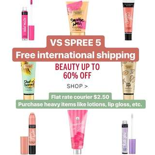 Victoria's Secret Spree 5 - Makeup Lotions