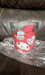 全新 Sanrio My Melody 膠杯一個 (Made In Japan 日本製 日本限定)