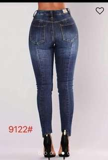 💰480 Size 28-36 Midwaist to highwaist  Irregular cut denim. Jeans  Stretch *c.s