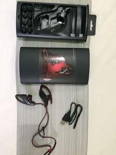 Prodi Sport Earphone with Microphone SP-6 Hitam