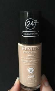 Revlon Colorstay Foundation shades 200