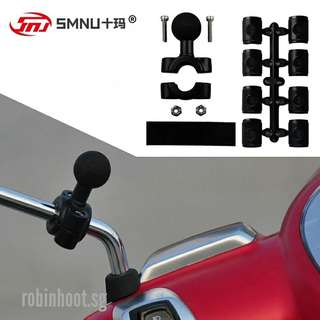 SMNU Motorcycle mobile phone / camera 9mm-15mm adapter