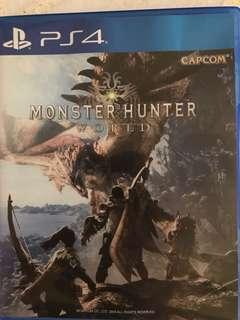 🚚 Monster hunter ps4