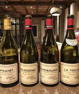 徵收 法國 頂級 紅酒 空樽 wine empty bottle